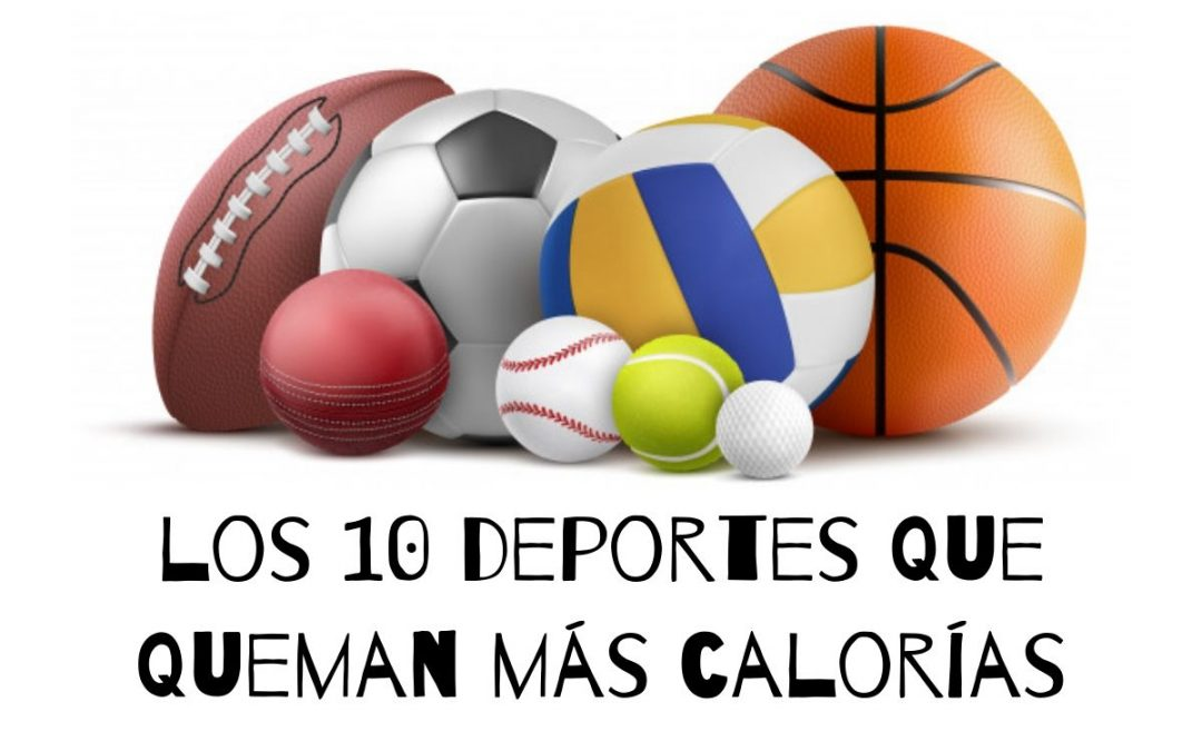 deportes que queman mas calorias