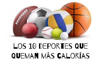 ¿Que deportes queman mas calorias?