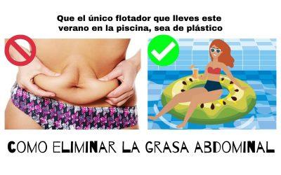 COMO ELIMINAR LA GRASA ABDOMINAL: 20 tips para perder grasa en el abdomen