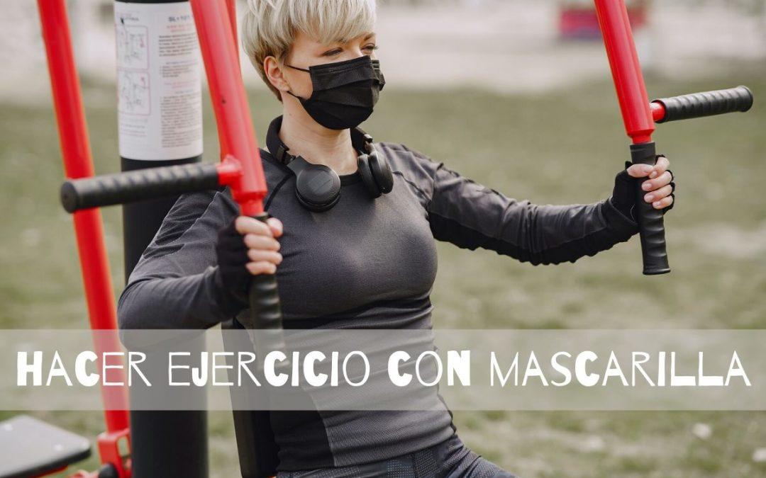 hacer ejercicio con mascarilla