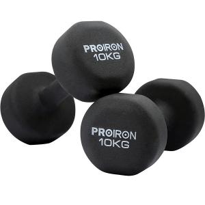 PROIRON MANCUERNAS NEOPRENO 10 KG