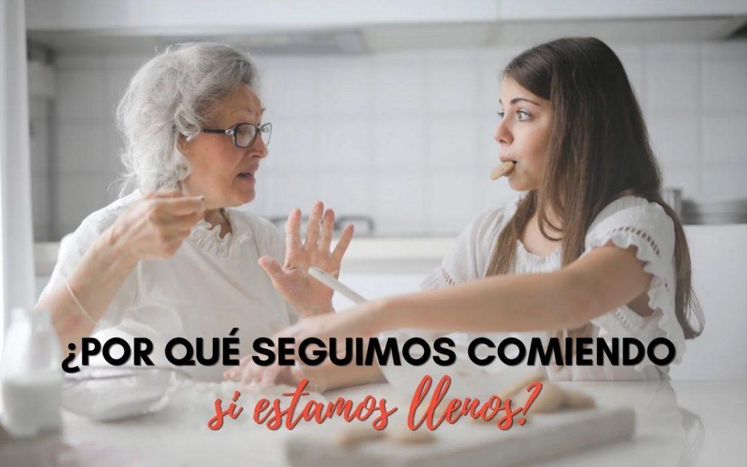 COMER POR GULA: Despídete de comer en exceso con estas soluciones
