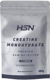 creatina monohidrato HSN Raw Creatina Monohidrato Micronizada en Polvo, 500 gr
