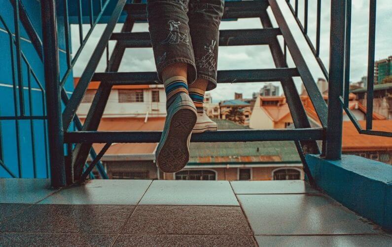 cuantos pasos hay que dar subiendo por las escaleras