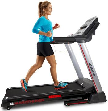 BH Fitness Marathoner Cinta de Correr plegable profesional para casa oferta