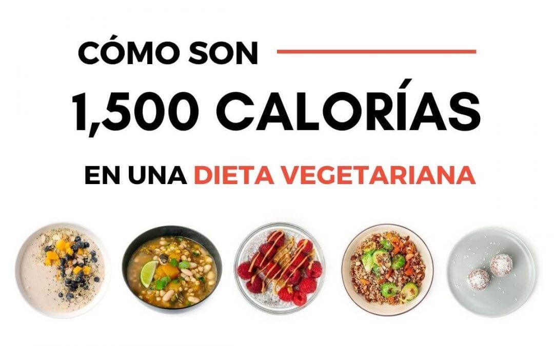 Dieta vegetariana de 1500 calorías: valores nutricionales y recetas
