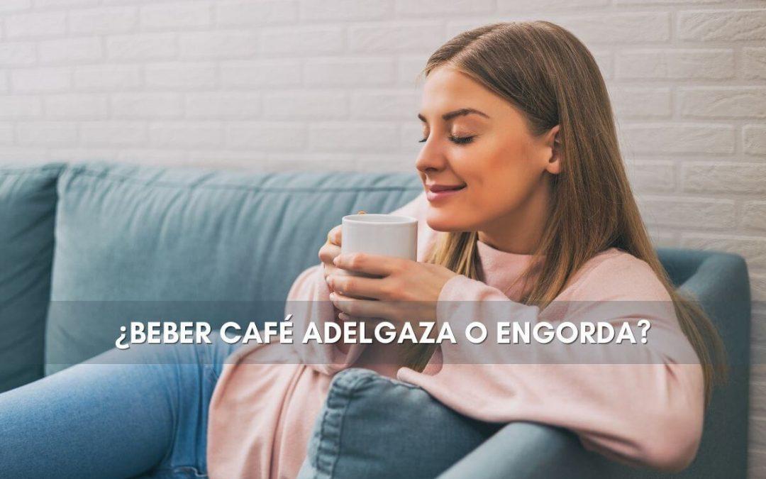 ¿Beber café adelgaza o engorda?