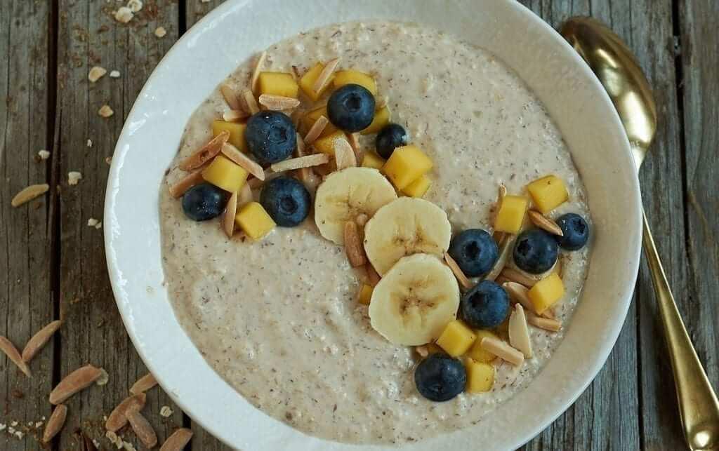 Chai-batido-bol 1500 calorias dieta vegetariana desayuno