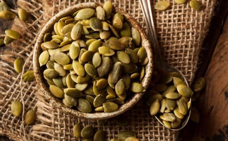 alimentos para reducir los antojos de azucar semillas de calabaza