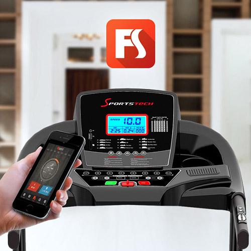 cinta de correr sportstech f31 consola