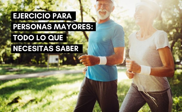 ejercicio y gimnasia para personas mayores