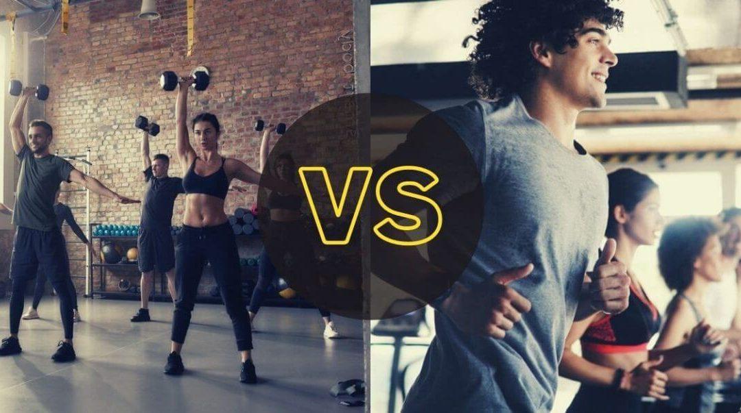 entrenamiento de fuerza o cardio para quemar grasa
