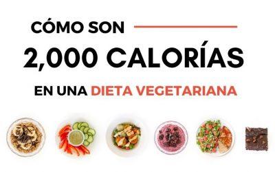 Dieta vegetariana de 2000 calorías: valores nutricionales y recetas